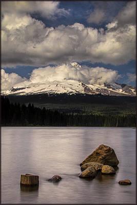 Photograph - Mount Hood by Erika Fawcett