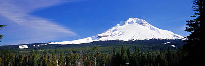 Magnificent Mountain Image Photograph - Mount Hood Or Usa by Panoramic Images