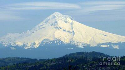 Photograph - Mount Hood  by Susan Garren