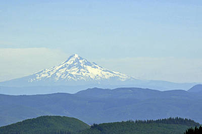 Photograph - Mount Hood by Tikvah's Hope