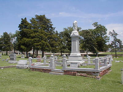 Photograph - Mount Hope Mcbride Family Plot by The GYPSY