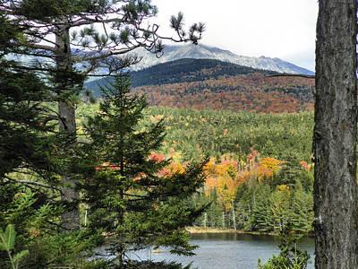 Photograph - Mount Katahdin Autumn 12 by Gene Cyr