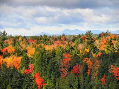 Photograph - Mount Katahdin Autumn 15 by Gene Cyr