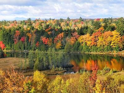 Photograph - Mount Katahdin Autumn 16 by Gene Cyr