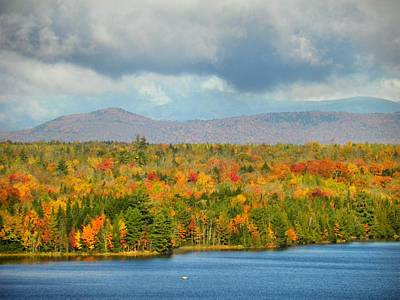 Photograph - Mount Katahdin Autumn 17 by Gene Cyr