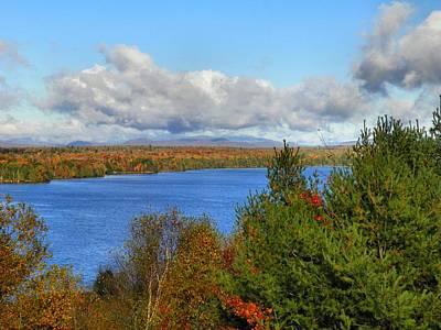 Photograph - Mount Katahdin Autumn 18 by Gene Cyr