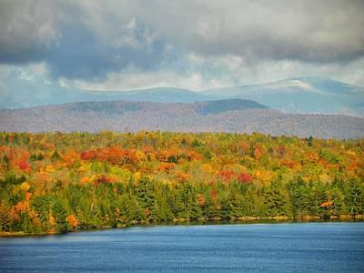 Photograph - Mount Katahdin Autumn 19 by Gene Cyr