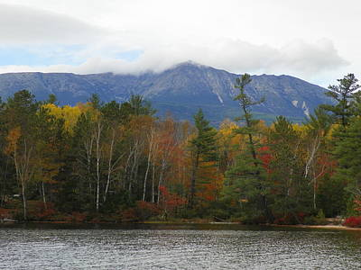 Photograph - Mount Katahdin Autumn 2 by Gene Cyr