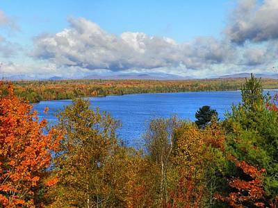 Photograph - Mount Katahdin Autumn 20 by Gene Cyr