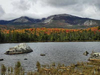 Photograph - Mount Katahdin Autumn 5 by Gene Cyr