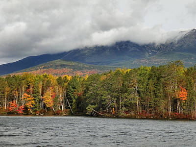 Photograph - Mount Katahdin Autumn 6 by Gene Cyr