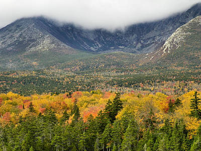 Photograph - Mount Katahdin Autumn 7 by Gene Cyr