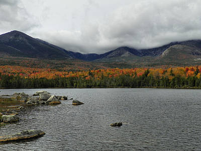 Photograph - Mount Katahdin Autumn 8 by Gene Cyr