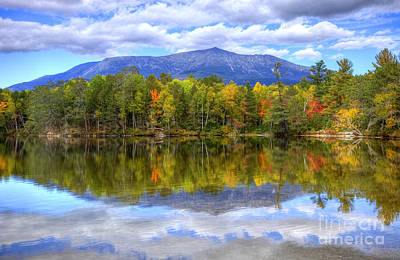 Mount Katahdin Art Print by Denis Tangney Jr