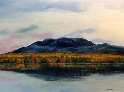 Mount Katahdin Art Print by Ken Ahlering