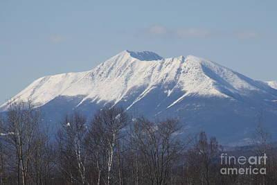 Mount Katahdin Winter 1 Art Print by Joseph Marquis