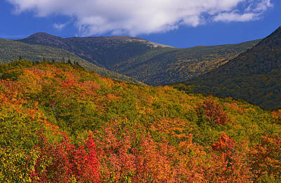Photograph - Mount Lafayette by Ken Stampfer