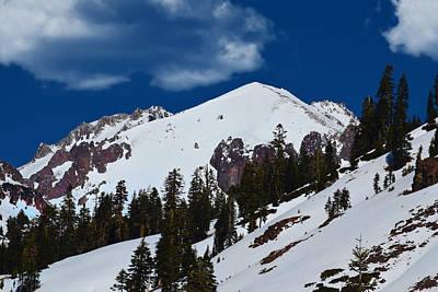 Photograph - Mount Lassen Volcanic Peak by Frank Wilson