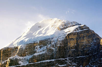 Photograph - Mount Lefroy by Mick House