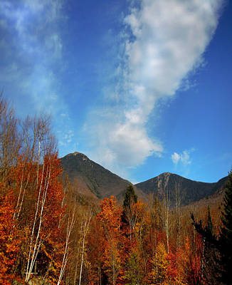 Photograph - Mount Liberty And Mount Flume Of Franconia Notch by Nancy Griswold