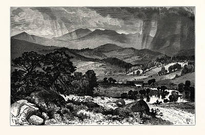 Mount Mansfield, From Rices Hill Art Print