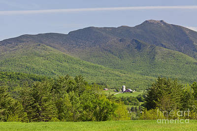 Photograph - Mount Mansfield Spring by Alan L Graham