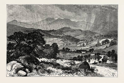Vermont Drawing - Mount Mansfield, Vermont, United States Of America by American School