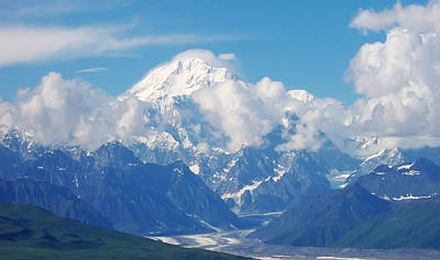 Photograph - Mount Mckinley by Aimee L Maher ALM GALLERY