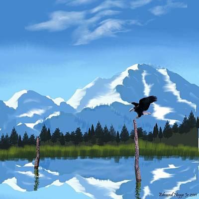 Mount Mckinley Alaska Art Print