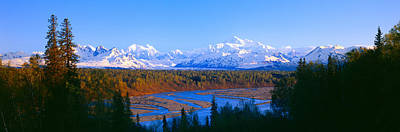 North American Photograph - Mount Mckinley, Alaska by Panoramic Images