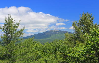 Mount Monadnock Photograph - Mount Monadnock From Little Monadnock Mountain by John Burk