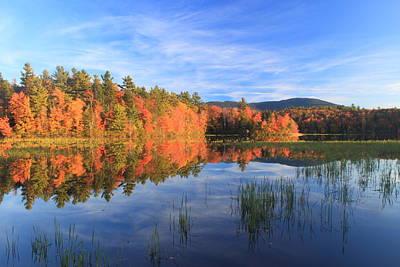 Mount Monadnock Howe Reservoir Foliage Art Print