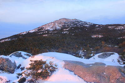 Mount Monadnock Photograph - Mount Monadnock Summit From Bald Rock by John Burk