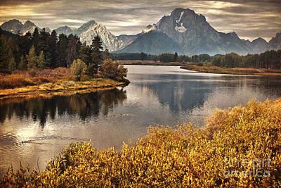 Jackson Hole Wall Art - Photograph - Mount Moran by Carolyn Rauh