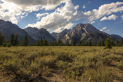 Photograph - Mount Moran - Grand Teton National Park by Brian Harig