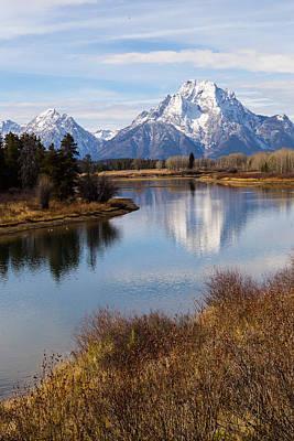 Photograph - Mount Moran by Michael Chatt