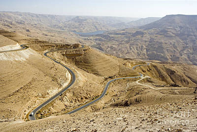 Mount Nebo Photograph - Mount Nebo, Jordan by Adam Sylvester