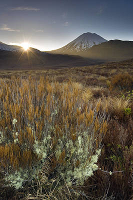 Photograph - Mount Ngauruhoe by Ng Hock How
