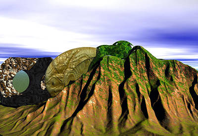 Digital Art - Mount Of Harmony by Museum Quality Prints -  Trademark Art Designs