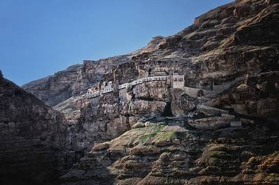 Photograph - Mount Of The Temptation Monastery Jericho Israel by Mark Fuller