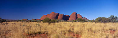 Uluru Photograph - Mount Olga, Uluru-kata Tjuta National by Panoramic Images