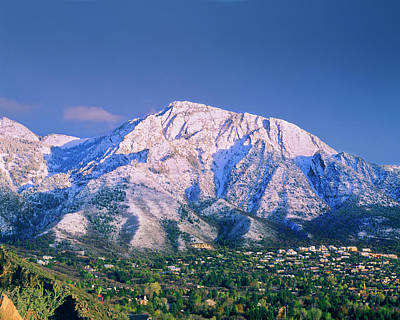 Olympus Photograph - Mount Olympus Mountain, Mount Olympus by Howie Garber