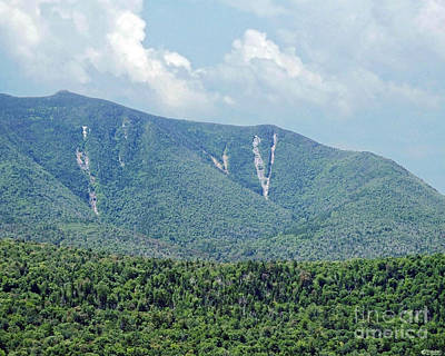 Photograph - Mount Osceola New Hampshire by Lizi Beard-Ward