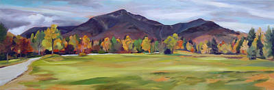 Painting - Mount Osceola New Hampshire by Nancy Griswold