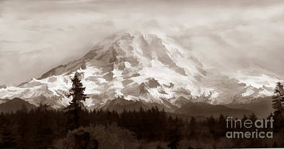 Photograph - Mount Rainer by Kathleen Gauthier