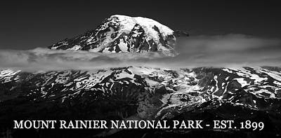 Mount Rainier 1899 Art Print