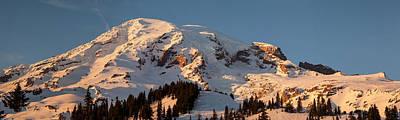 Mount Rainier Alpenglow Art Print