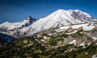 Photograph - Mount Rainier In The Summer by Pierre Leclerc Photography