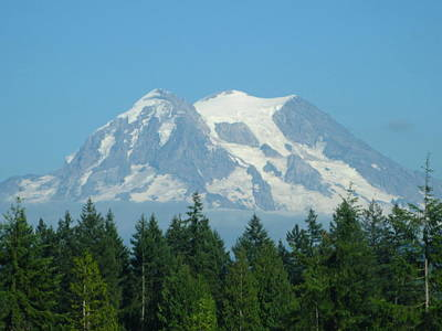 Mt. Massive Photograph - Mount Rainier by Kathy Long