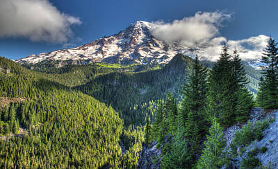 Photograph - Mount Rainier by Pierre Leclerc Photography